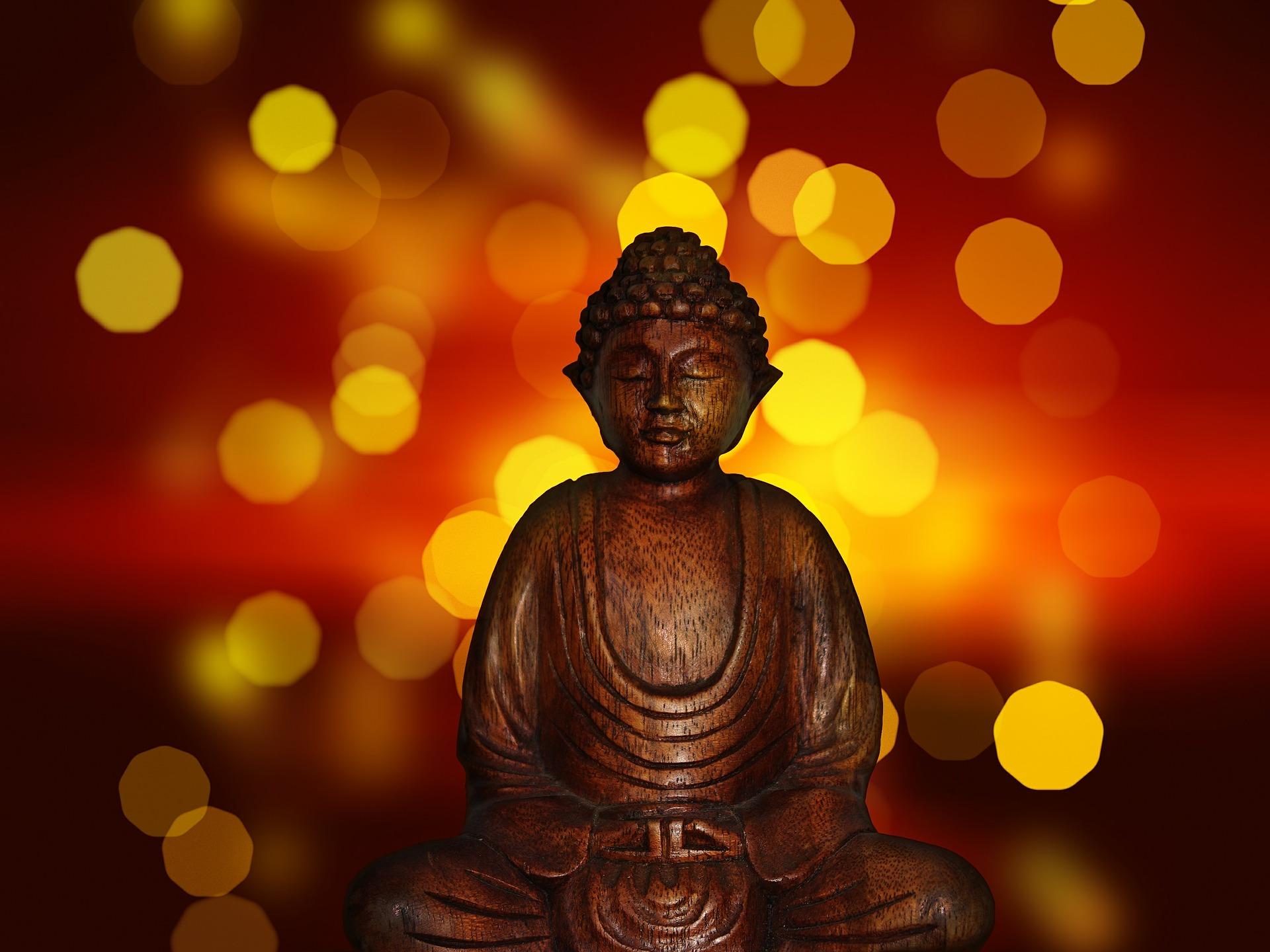 schweigen und meditieren